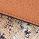 Wallet Croco Brown Snake