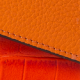 Wallet Croco Orange